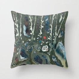 42 cut-outs and 1 cut Throw Pillow