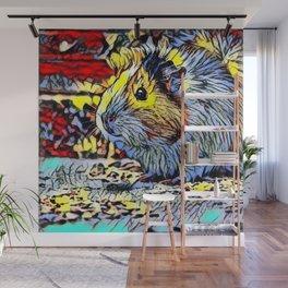 Color Kick - guina pig 2 Wall Mural