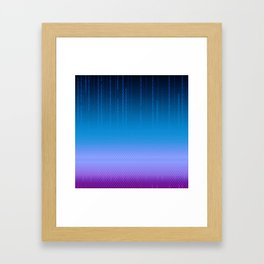 Sombra Skin Virus Pattern Framed Art Print