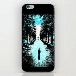 Lonely Walk iPhone Skin