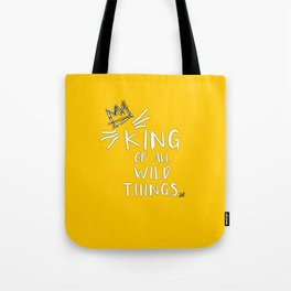 King of All Wild Things - Max Tote Bag