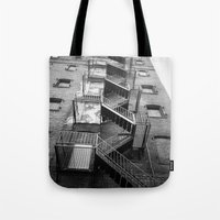Tote Bags featuring Escape by Olivia Joy StClaire