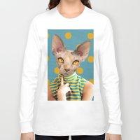 dot Long Sleeve T-shirts featuring DOT by Julia Lillard Art