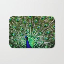 The peacock of Hellabrunn Bath Mat