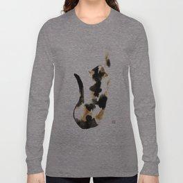 Calico cat Langarmshirt