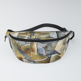 Georges Braque Violin and Candlestick Fanny Pack
