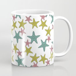 starfish tropical print Coffee Mug