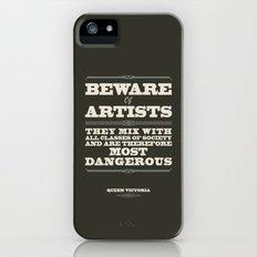 Beware of Artists iPhone (5, 5s) Slim Case