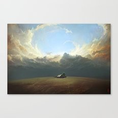 At World's End Canvas Print