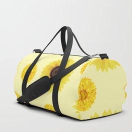 Autumn pattern of sunflowers Duffle Bag