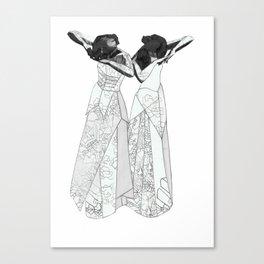 Inwards Canvas Print