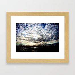 Cloud Invasion Framed Art Print