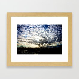 Cloud Invasion Framed Art Print
