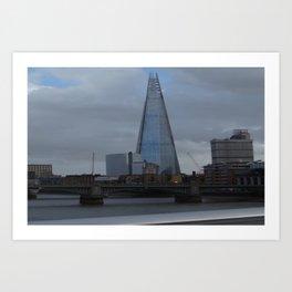 Chard of Glass Art Print