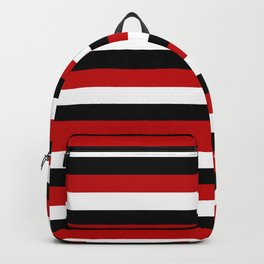 Trinidad and Tobago Yemen flag Amsterdam stripes Backpack