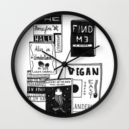 Latest Reading Material Wall Clock