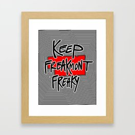 Freaky Freakmont Framed Art Print