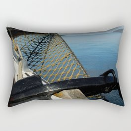 Sailing Through the Narrows Mull Scotland Rectangular Pillow