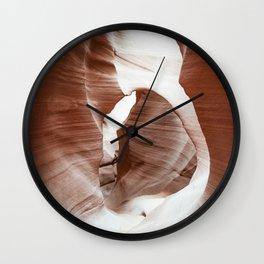 ANTELOPE CANYON IX Wall Clock