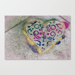 Street h'Art Canvas Print