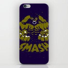 Hulk Smash iPhone Skin