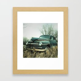 plymouth in the rough Framed Art Print