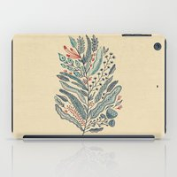 leaf iPad Cases featuring Turning Over A New Leaf by Monica Gifford