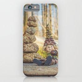 Wood Elf III iPhone Case