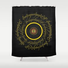 Lord Of The Ring - Sauron Eye Shower Curtain