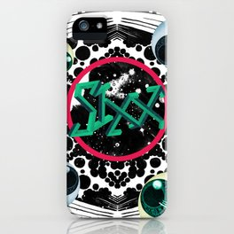 SIXX in Supersonic Black iPhone Case