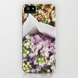 The Flower Market  iPhone Case