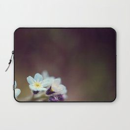Forget me knot Laptop Sleeve