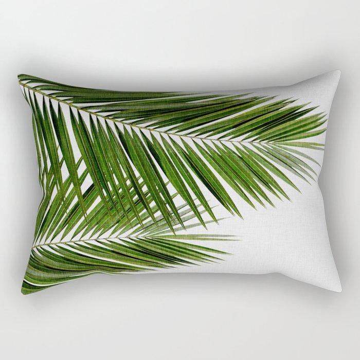 Palm Leaf II Rectangular Pillow