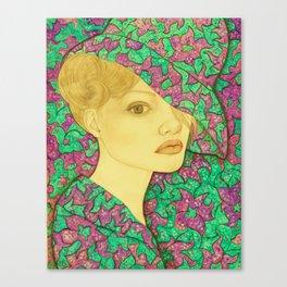 Flowers serie Canvas Print