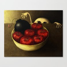 The Apples Canvas Print