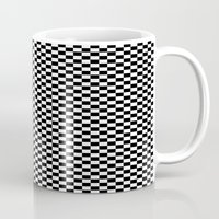 chess Mugs featuring Chess Board by ArtSchool