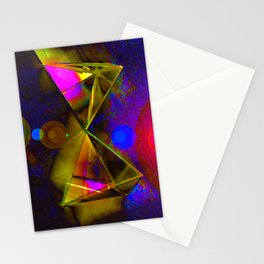Blackhole Prism Stationery Cards