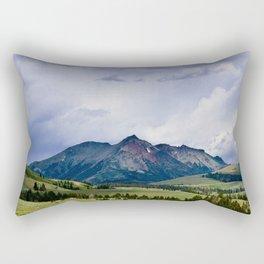 Electric Peak Yellowstone Rectangular Pillow