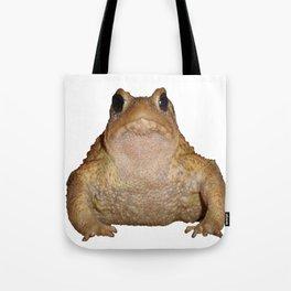 Bufo Bufo European Toad  Isolated Tote Bag
