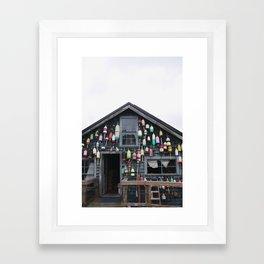 maine Framed Art Print