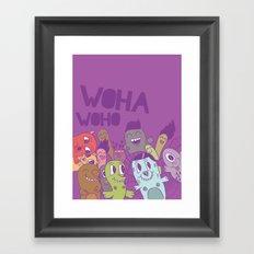 mostors Framed Art Print