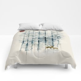 the blue forest Comforters