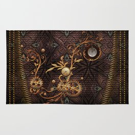 Steampunk, gallant design Rug