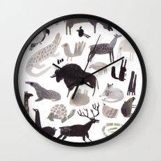 animaletti Wall Clock