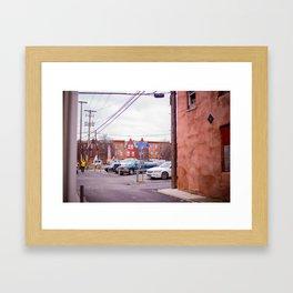 Harrisburg Sidestreet Framed Art Print