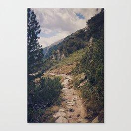 As Far As My Feet Will Carry Me Canvas Print