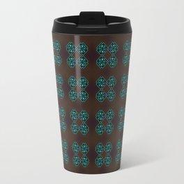 Endless pattern dark Travel Mug