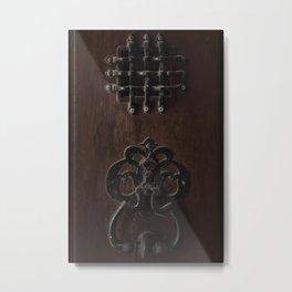 Cuban door knocker Metal Print