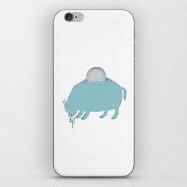Wild Pig Bank iPhone Skin