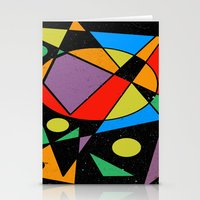 kandinsky Stationery Cards featuring Abstract #130 by Ron Trickett